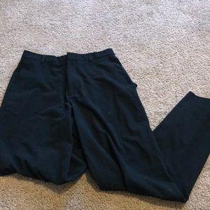 Calvin Klein 30x32 Black Slim Fit Dress Pants